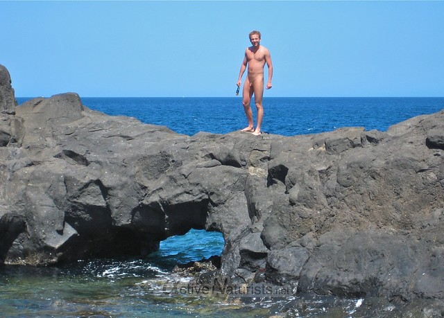 naturist 0003 Charco del Palo, Lanzarote, Canary Islands, Spain