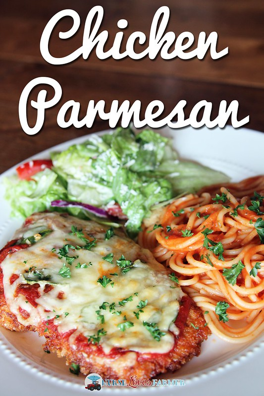 Chicken Parmesan. It takes a bit more time, but it is worth it for this tender, juicy chicken parmesan! Step-by-step instructions with pictures included.