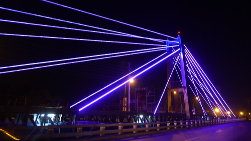 Davao Photos: LED Lights at Governor Generoso Bridge in Bankerohan - DavaoLife.com
