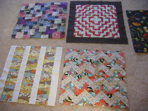 Dolly quilt blocks (4)