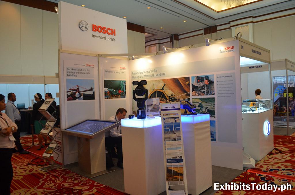 Bosch Exhibit Booth