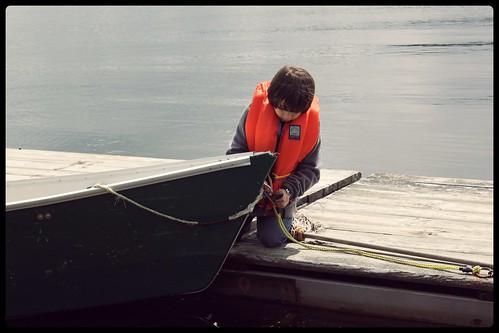 Réserve Faunique Mastigouche - binou bateau