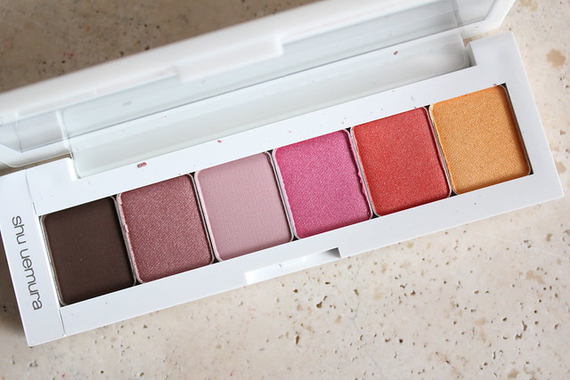 Shu Uemura Vision of Beauty Haute Street Eye Shadow Palette review and swatches