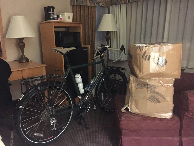 Cycling the C&O and GAP Trails: Day 0