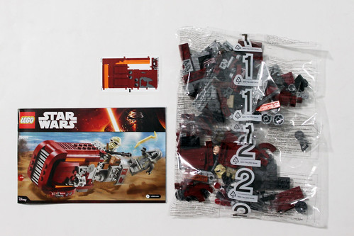 LEGO Star Wars: The Force Awakens Rey's Speeder (75099)