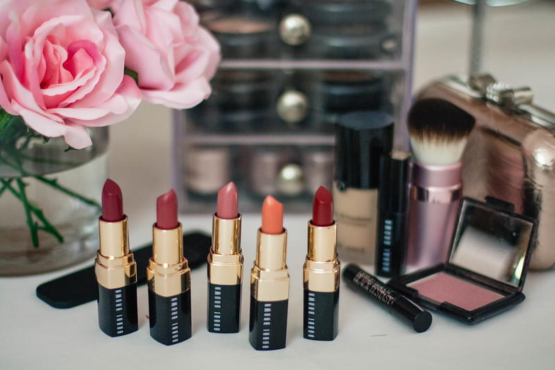 cute & little blog | neiman marcus x bobbi brown fall lipstick colors | lips beauty