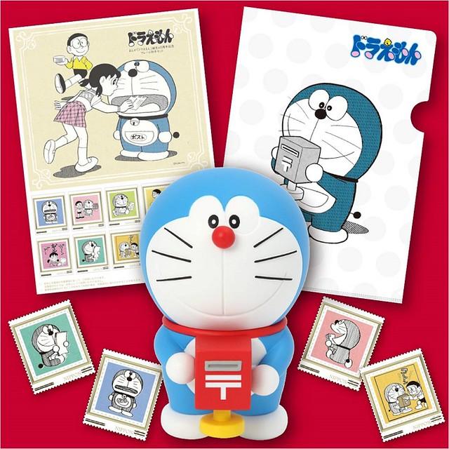 哆啦A夢誕生45週年紀念!日本郵局將推出限定版「郵票 & 公仔」組合
