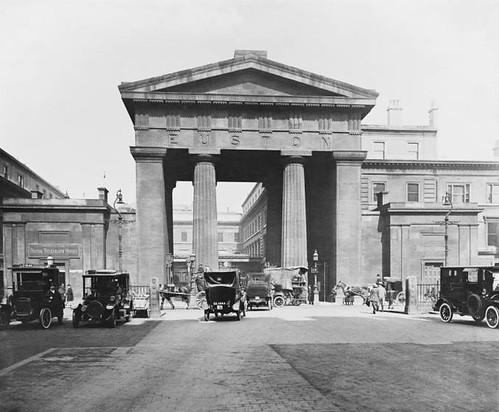 Euston Station arch
