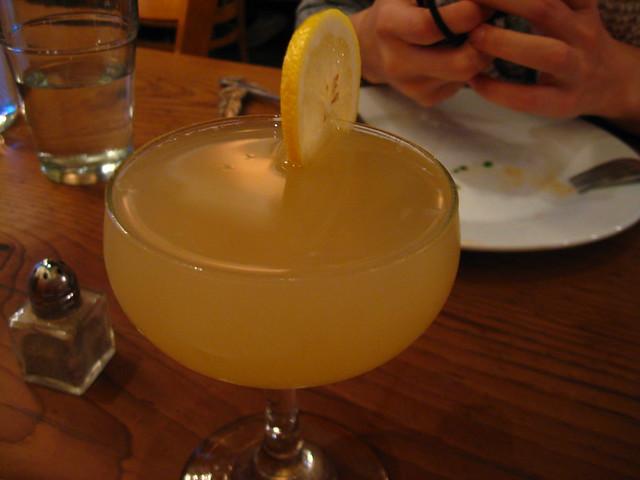 Portobello Vegan Trattoria--Ginger Rawger Mocktail