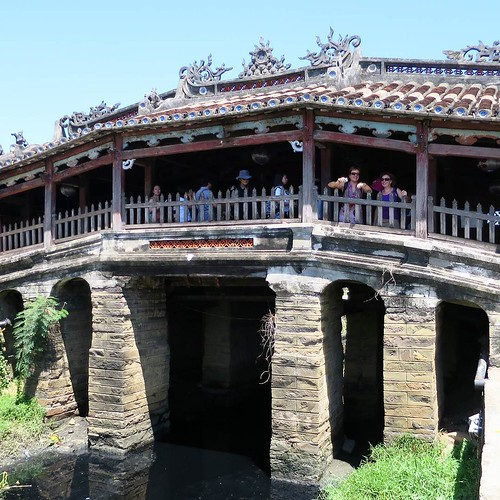 ザ・観光地。ベトナムの日本橋。