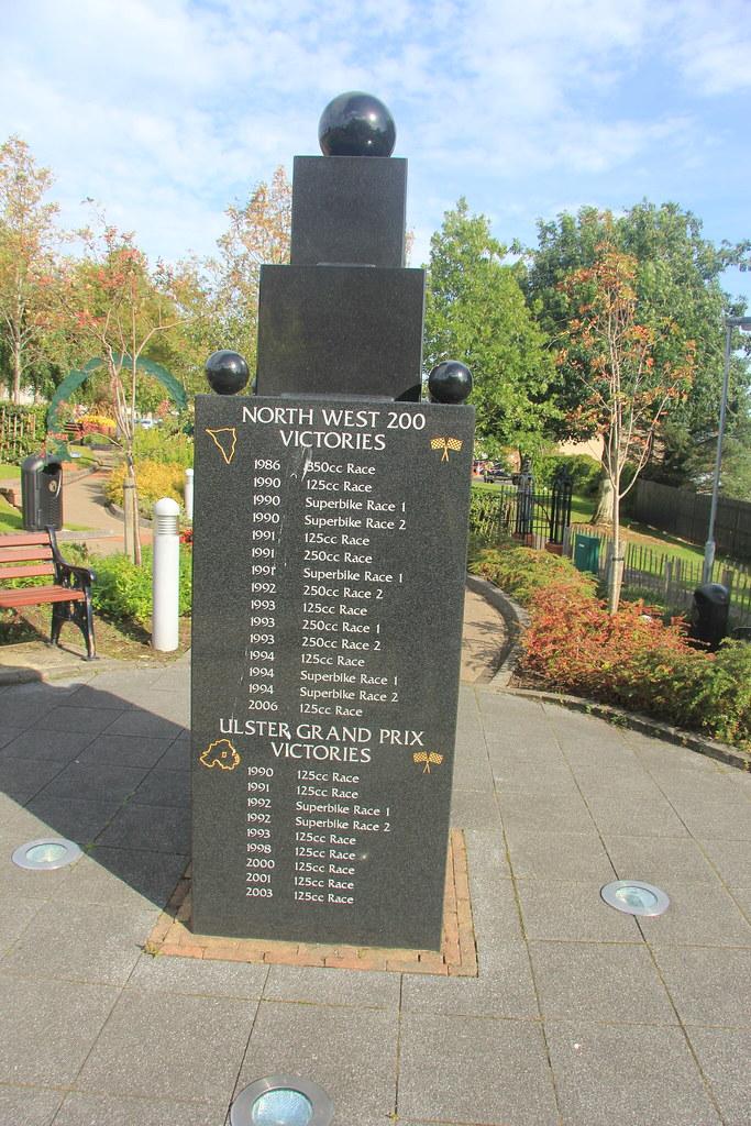 The Robert Dunlop Memorial Garden