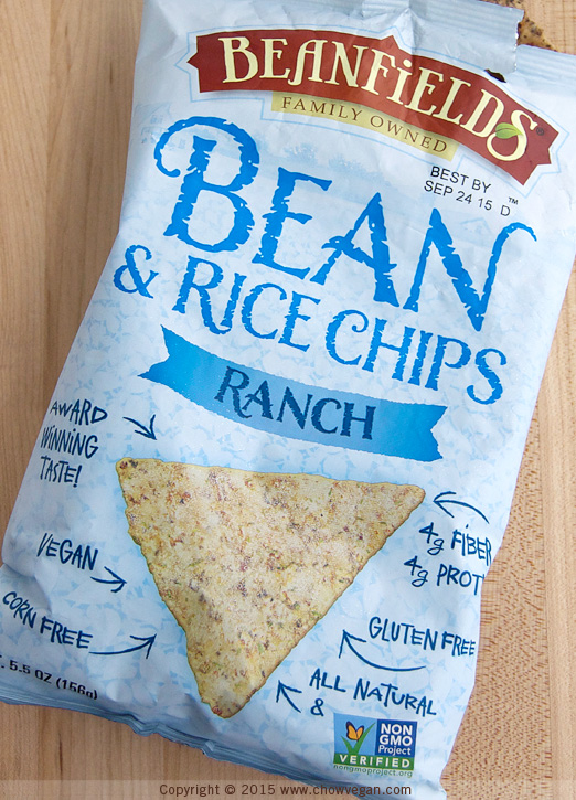 Beanfields Bean and Rice Chips Ranch Flavor