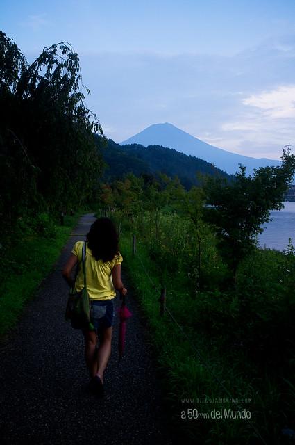 Camino al Fuji