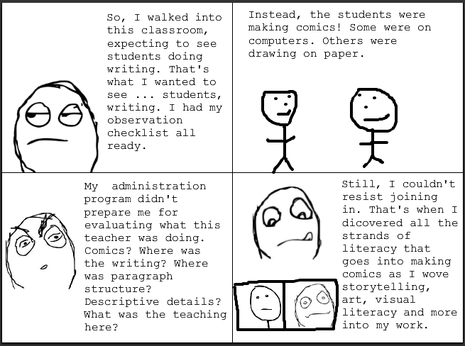 comics from an adminstrators view