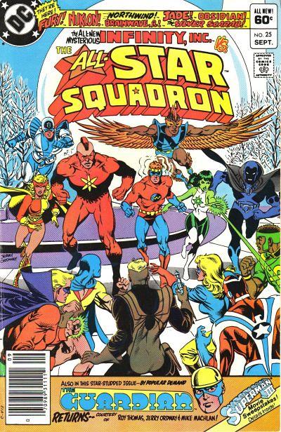 All-Star Squadron 25, Cover
