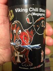 Beersperiment: Viking Chili Stout (Denmark) @Halyma: 3* me: 4*