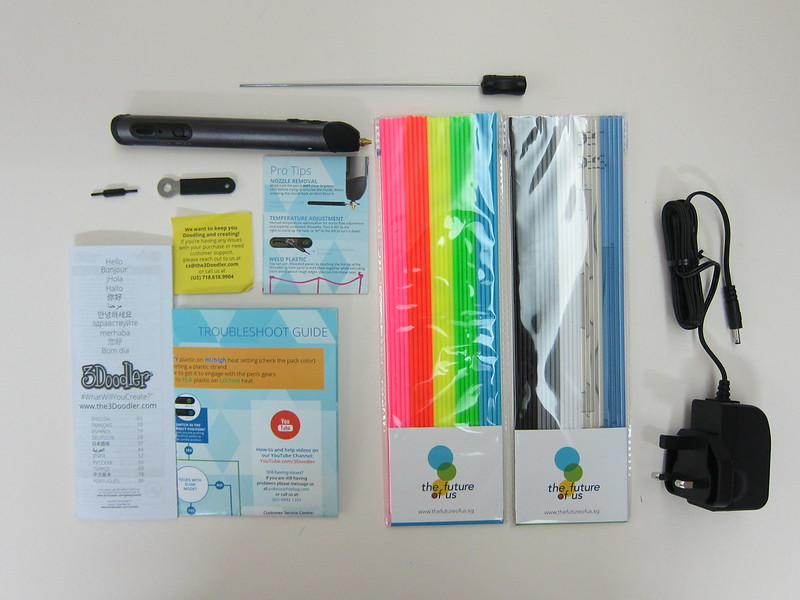 3Doodler 2.0 (The Future Of Us Edition) - Box Contents