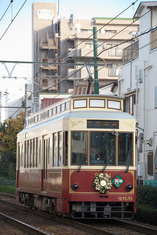 Tokyo Train Story 都電荒川線 2015年12月12日