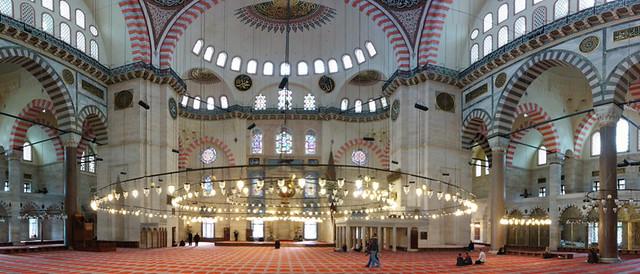 Süleymaniye Cami interior