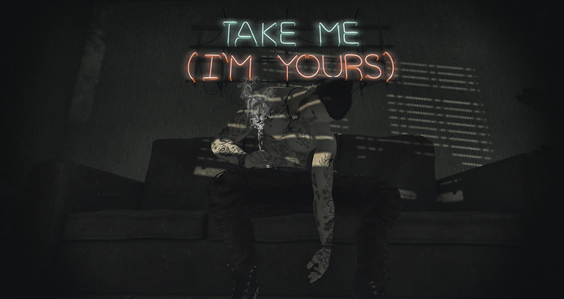 Take me .. Im yours