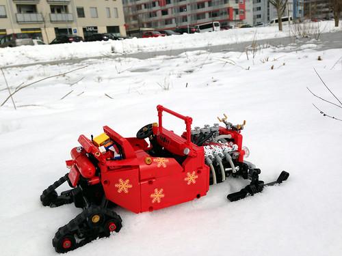 Santa's rod, LEGO RC MOC
