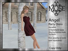 [MUSE] Angel Party Dress - V9