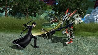 SAOキャラは武器の持ち替えが可能1