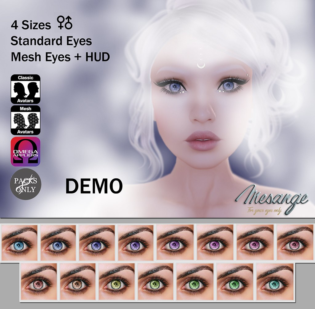 MESANGE - Melancholy Eyes for LOST&FOUND - SecondLifeHub.com