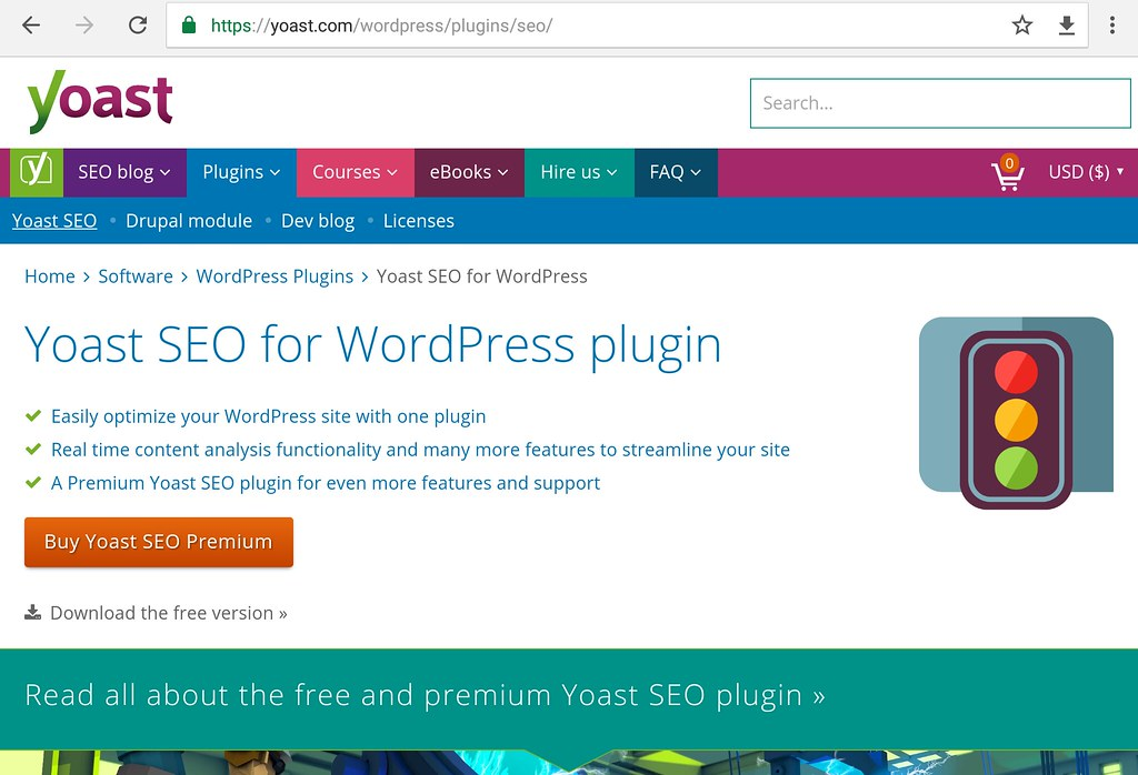 WP yoast site