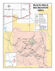 Black Hills Recreation Area map