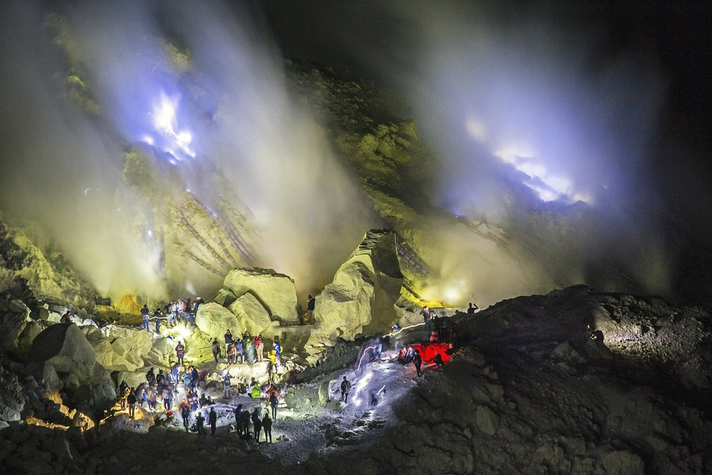 The Ijen fire