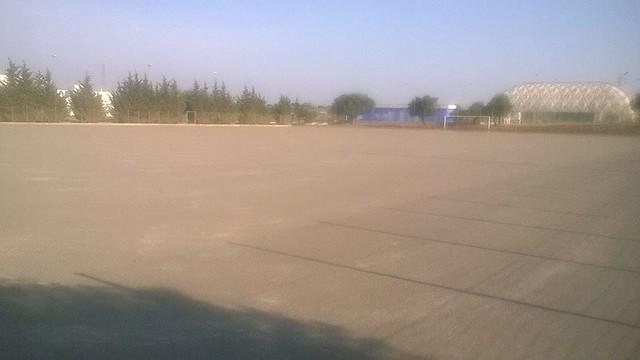 Rutigliano-Lavori al campo di Via Adelfia fase 3- foto Sport Centre Rutigliano
