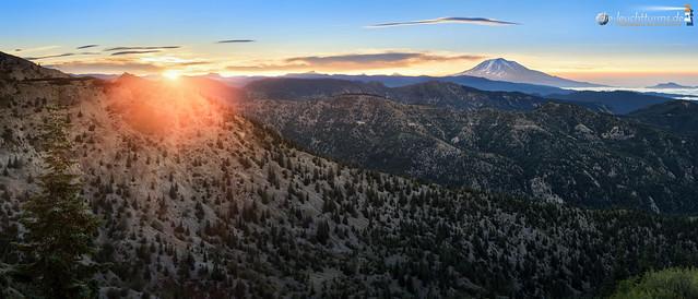 Mount Adams sunrise