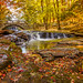 Autumn at Vaughn Falls - Explored 9/15/15 by just joani