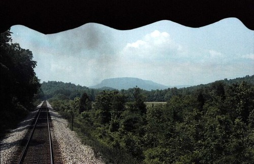 mountains tracks railroads scenicviews stateofgeorgia foxmountain trentongeorgia norfolksouthernrailroad dadecountygeorgia trainexcursions risingfawngeorgia rolla071 georgiacountryside formatfilm35mmnegative georgiacountydade norfolksouthernrailroadsteamexcursionprogram year1983pictures canonae1program2067283 cameracanonae1program aboardexcursiontrains aboardjune5th1983excursiontrain birminghamchattanoogatrainexcursion198306