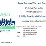 1 Mile Fun Run/Walk & 5K