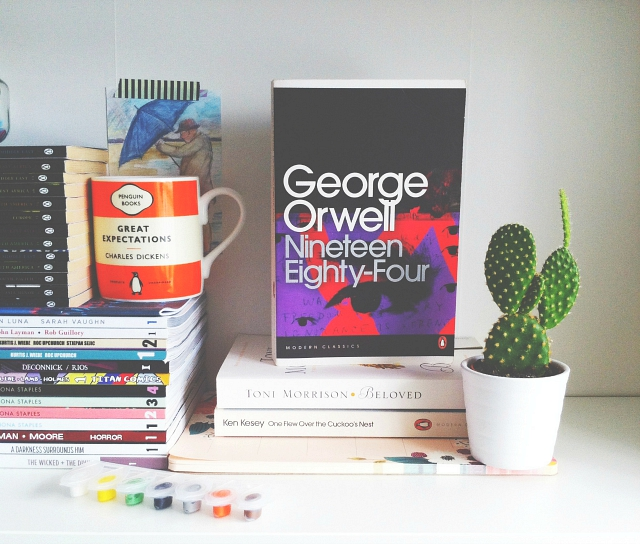 vivatramp 1984 george orwell lifestyle book blog