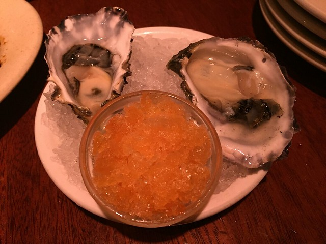Oysters on the half shell - Betelnut Restaurant