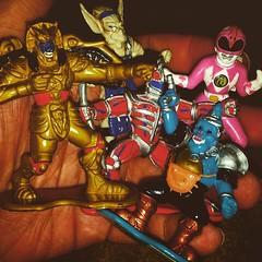 A fistful of #mmpr #PowerRangers #sentai #goldar #finster #bubo #lordzedd #RagingNerdgasm #TomKhayos #ToyGameScroogeMcDuck #toyfinds #toyhustle #ToyGameJohnRockefeller #toyhorder #toysagram