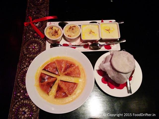 Desserts At Bidri
