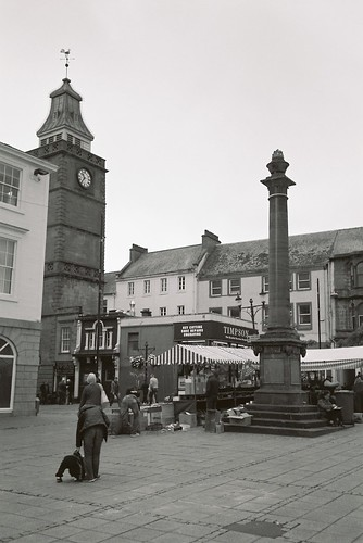 Market square Dumfries