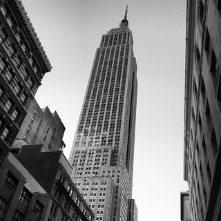 E is for Empire Building conveniently located in the Empire state. #jwab #alphabetsoup
