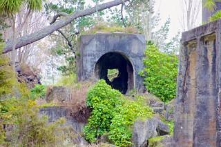 Cement Work Ruins
