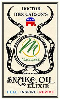 Dr. Carson's Snake Oil