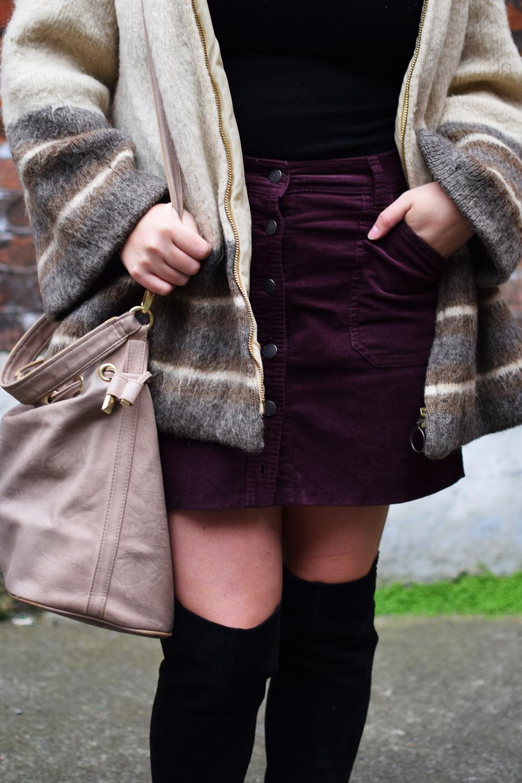 vintage 70s wool coat