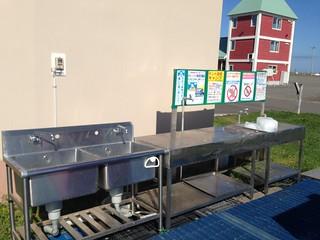 hokkaido-monbetsu-marine-park-camp-site-kitchen