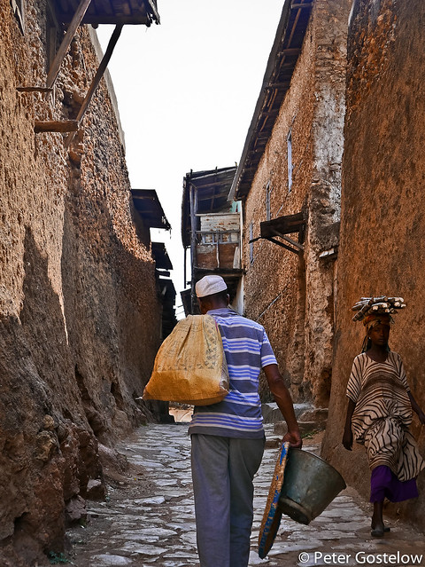 Inside Harar's old town
