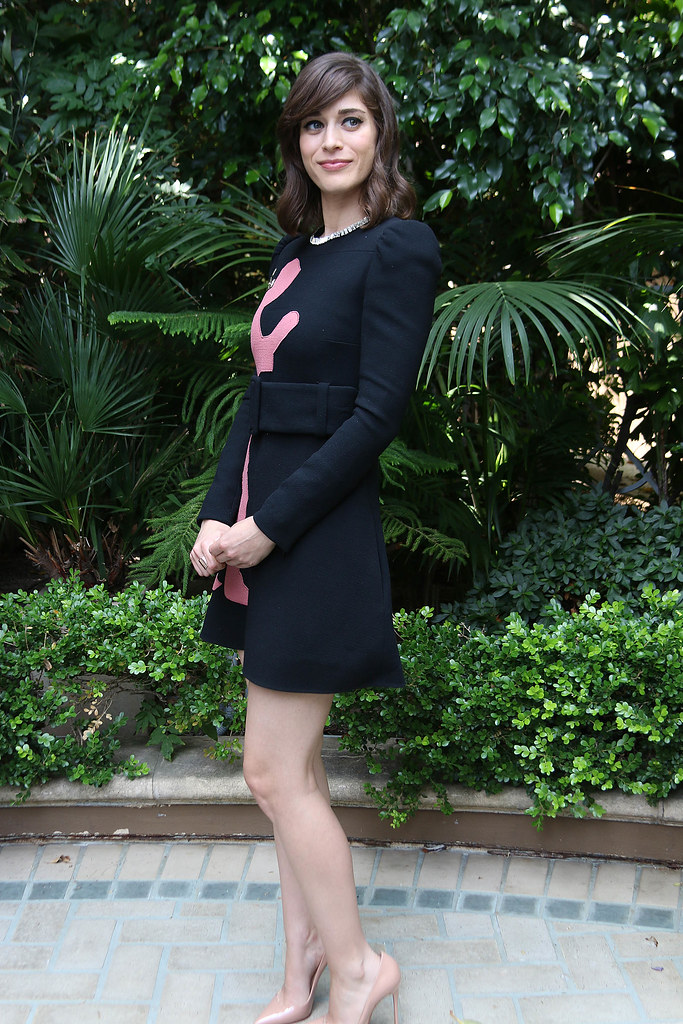 Лиззи Каплан — Пресс-конференция «Мастера секса» 2014 – 5