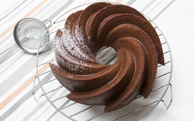 Bundt cake de calabaza especiada