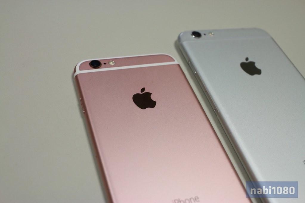 iPhone 6sローズゴールド10